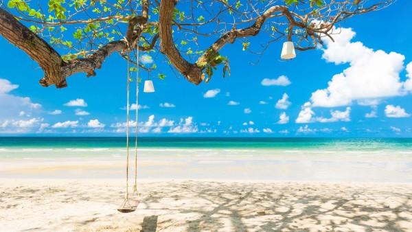 один из лучших пляжей White Sand