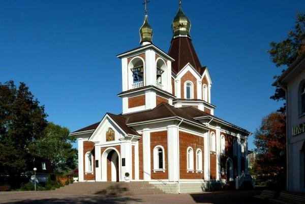 церковь Радонежского