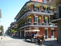 Бурбон-стрит, Французский рынок, Презервейшн Холл и другие достопримечательности Нового Орлеана