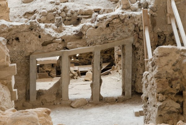 здания доисторического Акротири