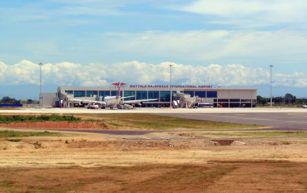 интернациональный аэровокзал острова Маттала Раджапакса