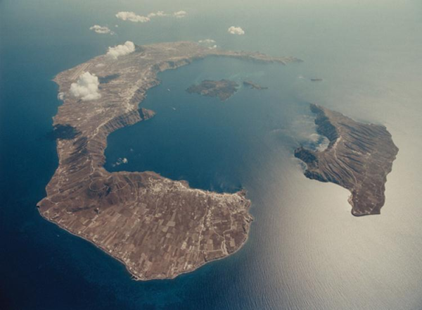 природный вулкан
