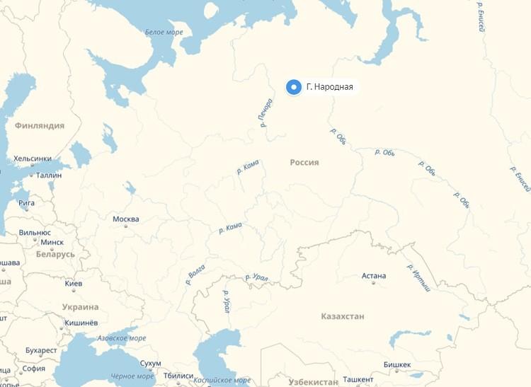 вершина на атласе России