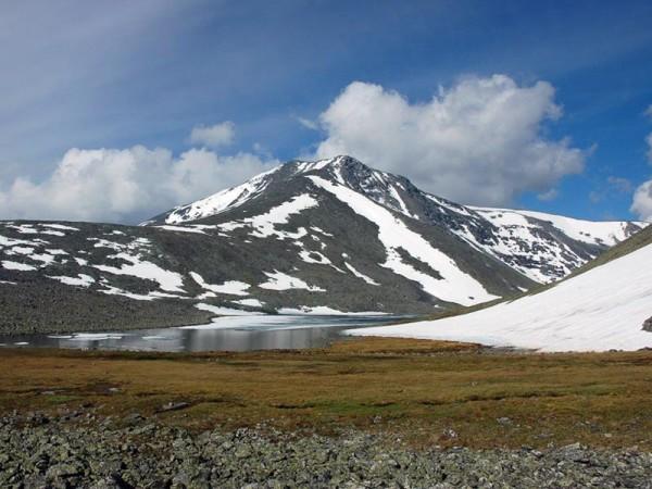 самая высокая точка Уральской горной системы