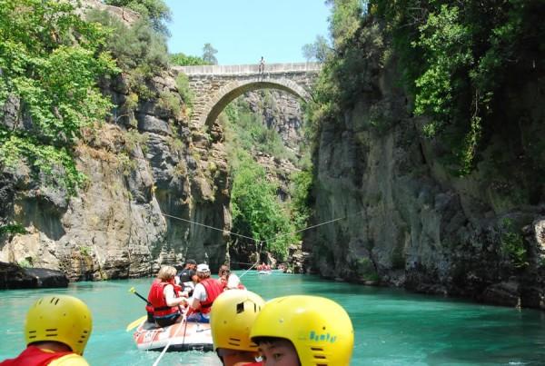 как сплавляться в каньоне Кёпрюлю?