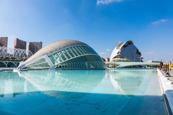 архитектура Города наук и искусств