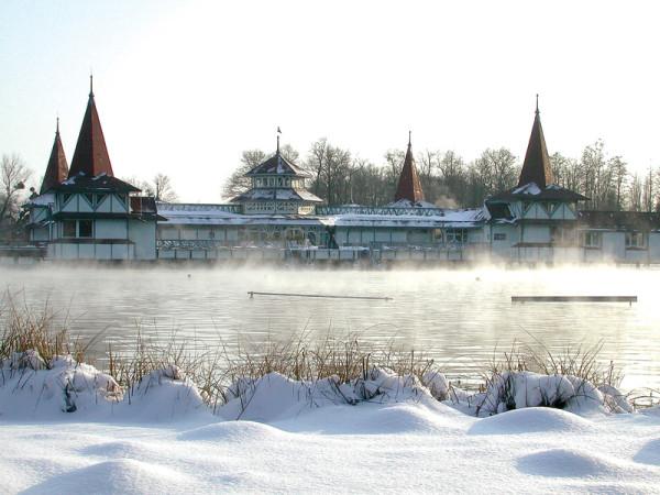 погодный и температурный режим в середине зимы
