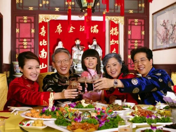 празднование китайского торжества