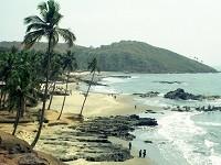 пляж Анджуна в Гоа