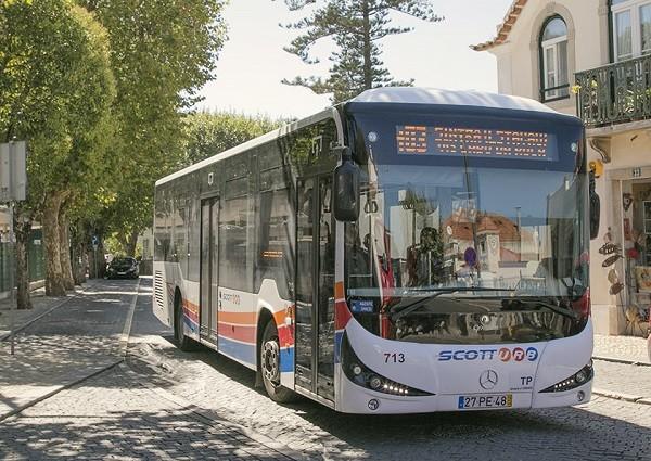 автобус в Кашкайш
