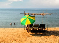 Бага - один из тусовочных пляжей Гоа