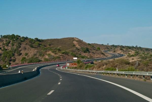 дорога в Алгарве