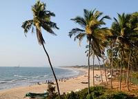 Отдых на пляже Кандолим в Гоа