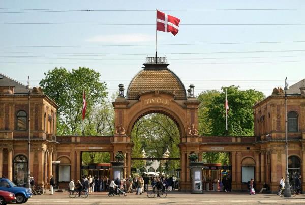 парковый комплекс в Дании
