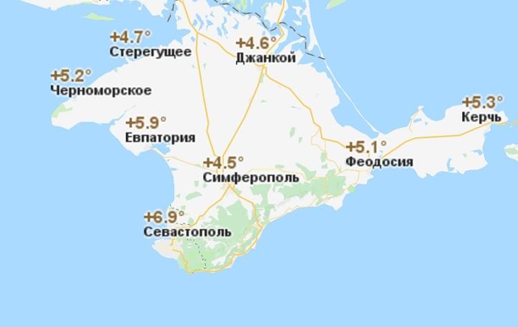 метеорологический прогноз на третий месяц зимы