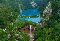 Плитвицкие озера на карте Хорватии