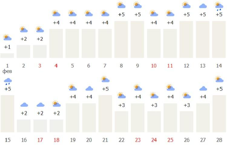 ялтинский прогноз на второй месяц