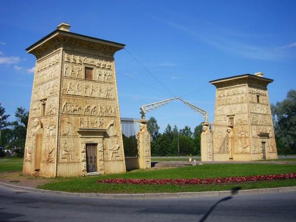 архитектурные ворота