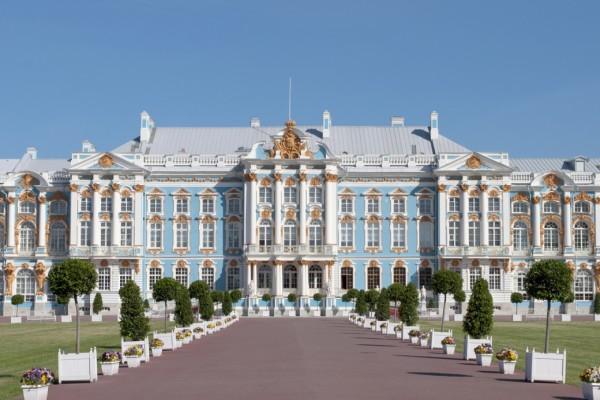 архитектура Екатерининского дворца