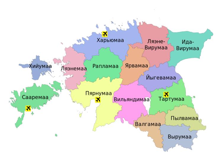 схема районов